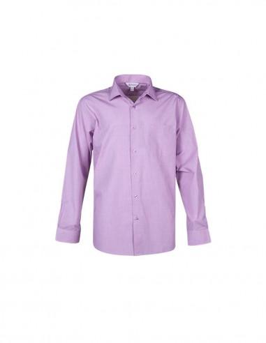 AU-1902L - Mens Grange Check Long Sleeve Shirt - Aussie Pacific