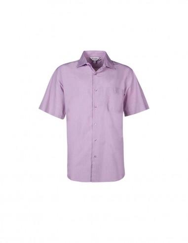 AU-1902S - Mens Grange Check Short Sleeve Shirt - Aussie Pacific