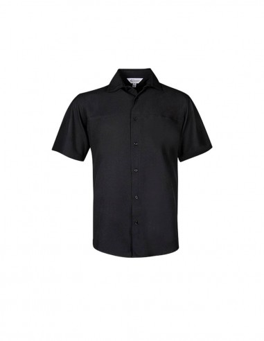 AU-1904S - Mens Springfield Functional Short Sleeve Shirt - Aussie Pacific