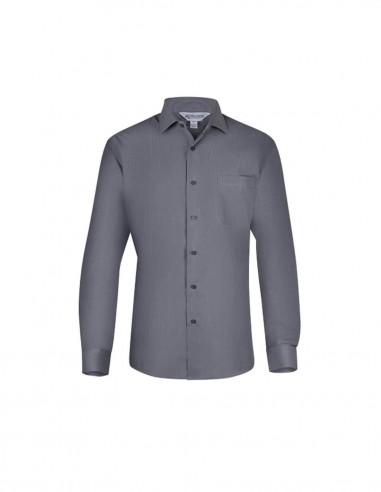 AU-1905L - Mens Belair Stripe Long Sleeve Shirt - Aussie Pacific