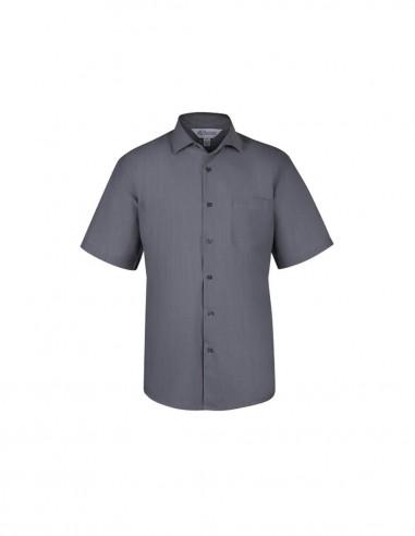 AU-1905S - Mens Belair Stripe Short Sleeve Shirt - Aussie Pacific