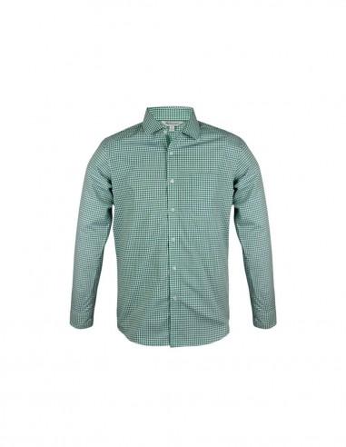 AU-1907L - Mens Epsom Long Sleeve Shirt - Aussie Pacific