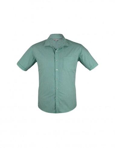 AU-1907S - Mens Epsom Short Sleeve Shirt - Aussie Pacific