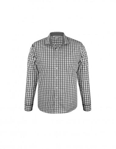 AU-1908L - Mens Devonport Long Sleeve Shirt - Aussie Pacific