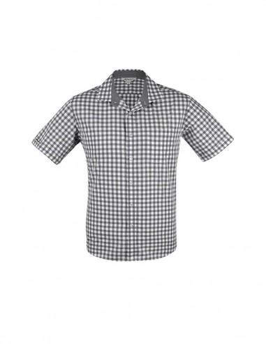 AU-1908S - Mens Devonport Short Sleeve Shirt - Aussie Pacific