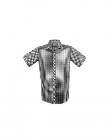 AU-1909S - Mens Brighton Short Sleeve Shirt - Aussie Pacific