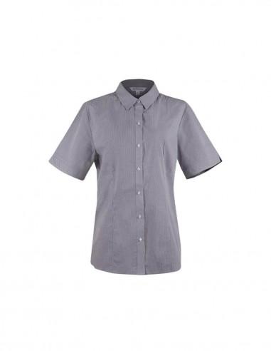 AU-2901S - Ladies Toorak Check Short Sleeve Shirt - Aussie Pacific