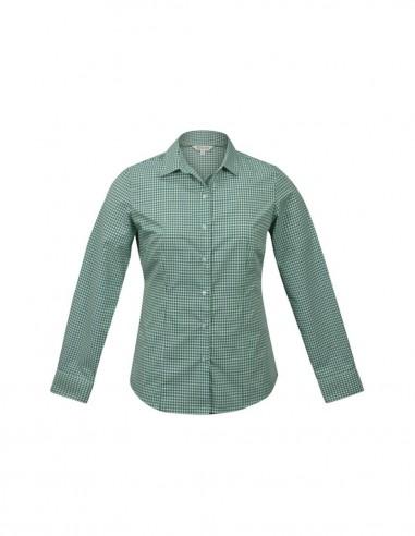 AU-2907L - Ladies Epsom Long Sleeve Shirt - Aussie Pacific