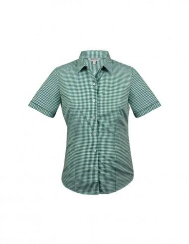 AU-2907S - Ladies Epsom Short Sleeve Shirt - Aussie Pacific