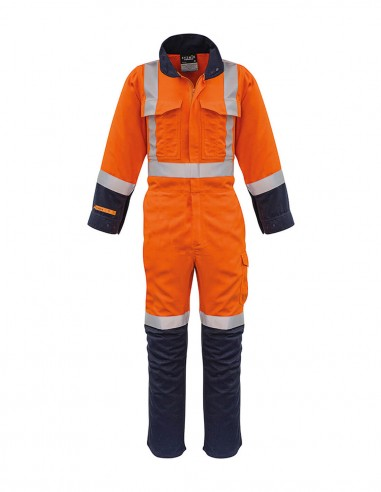 SY-ZC518 - Mens Shoulder Taped Overall - Syzmik