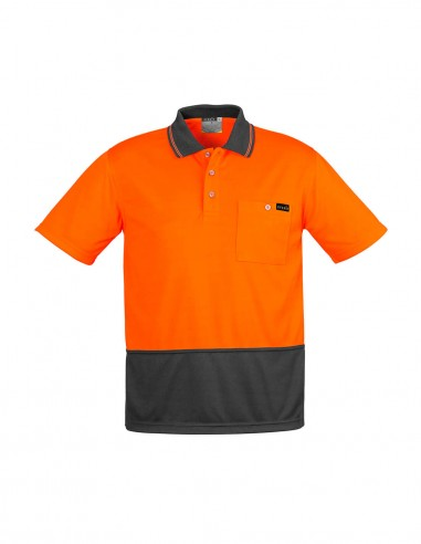 SY-ZH415 - Mens Comfort Back S/S Polo - Syzmik