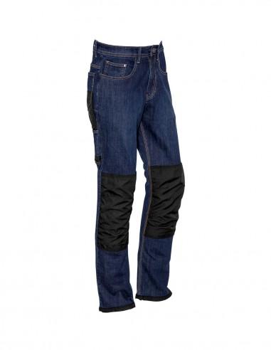 SY-ZP508 - Mens Heavy Duty Cordura® Stretch Denim Jeans - Syzmik