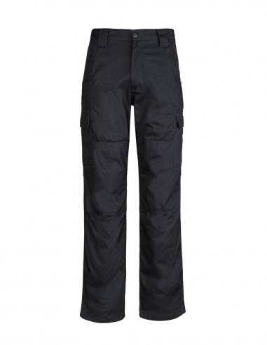 SY-ZW001S - Mens Midweight Drill Cargo Pant (Stout) - Syzmik