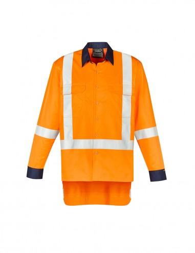 SY-ZW126 - Mens TTMC-W17 X Back Work Shirt - Syzmik