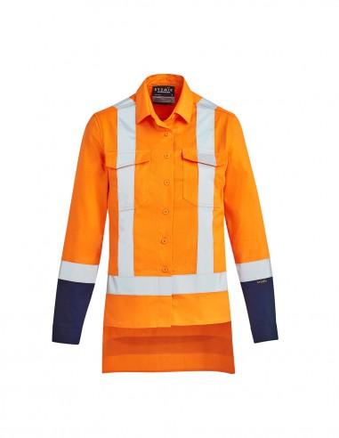 SY-ZW730 - Womens TTMC-W17 Drill Work Shirt - Syzmik