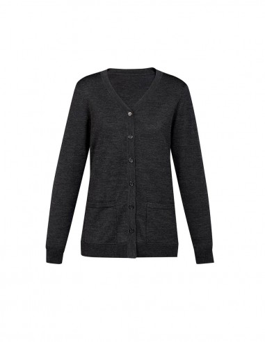 BCA-CK045LC - Womens Button Front Cardigan - Biz Care