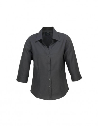 BCA-LB3600 - Ladies Plain Oasis 3/4 Sleeve Shirt - Biz Care