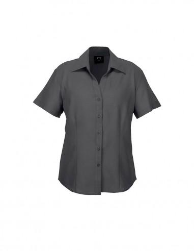 BCA-LB3601 - Ladies Plain Oasis Short Sleeve Shirt - Biz Care