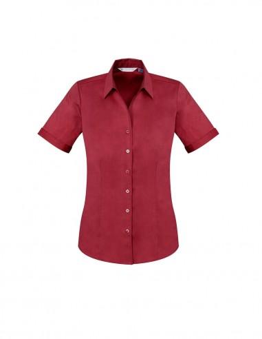 BCA-S770LS - Ladies Monaco Short Sleeve Shirt - Biz Care