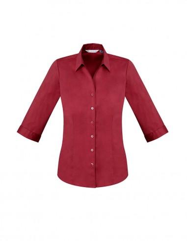 BCA-S770LT - Ladies Monaco 3/4 Sleeve Shirt - Biz Care