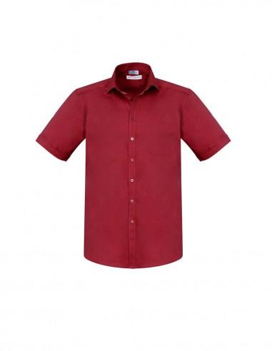BCA-S770MS - Mens Monaco Short Sleeve Shirt - Biz Care