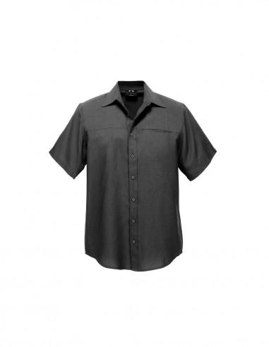 BCA-SH3603 - Mens Plain Oasis Short Sleeve Shirt - Biz Care