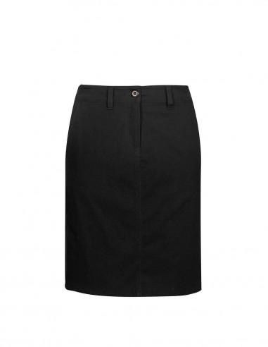 BC-BS022L - Lawson Ladies Chino Skirt - Biz Collection