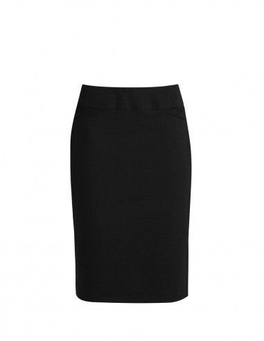 BC-BS128LS - Classic Ladies Knee Length Skirt - Biz Collection