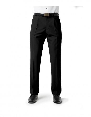 BC-BS29110 - Classic Mens Pleat Front Pant - Biz Collection