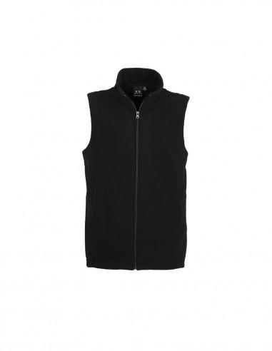 BC-F233MN - Plain Microfleece Mens Vest - Biz Collection