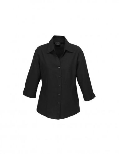 BC-LB3600 - Ladies Plain Oasis 3/4 Sleeve Shirt - Biz Collection