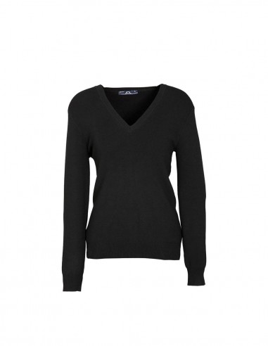 BC-LP3506 - V-Neck Ladies Pullover - Biz Collection