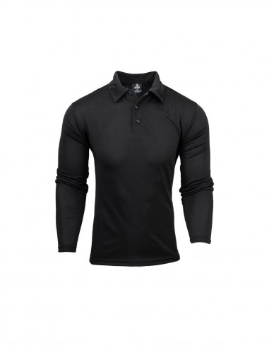 AU-1316 - Mens Long Sleeve Botany Polo - Aussie Pacific