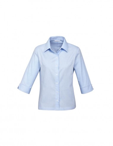 BC-S10221 - Luxe Ladies ¾/S Shirt - Biz Collection