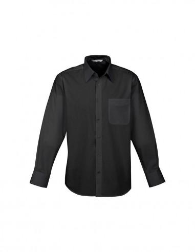 BC-S10510 - Base Mens L/S Shirt - Biz Collection