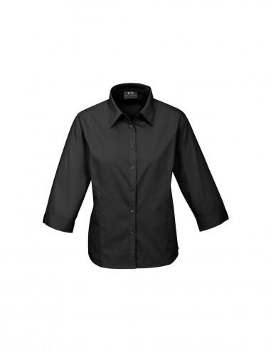 BC-S10521 - Base Ladies ¾/S Shirt - Biz Collection