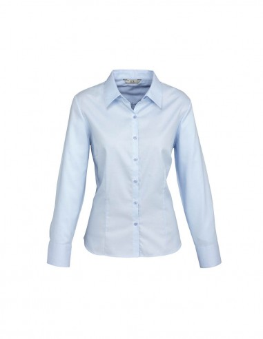 BC-S118LL - Luxe Ladies L/S Shirt - Biz Collection