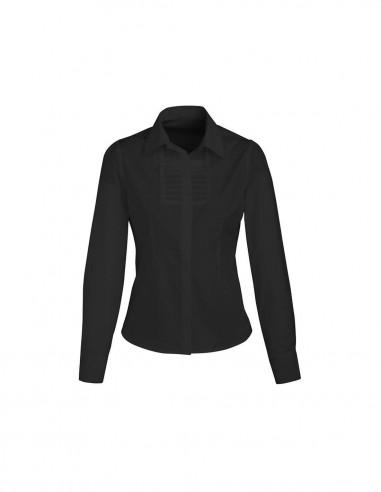 BC-S121LL - Berlin Ladies L/S Shirt - Biz Collection