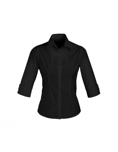 BC-S121LT - Berlin Ladies ¾/S Shirt - Biz Collection