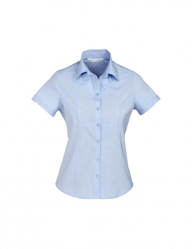 BC-S122LS - Chevron Ladies S/S Shirt - Biz Collection