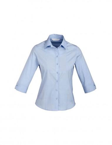 BC-S122LT - Chevron Ladies ¾/S Shirt - Biz Collection