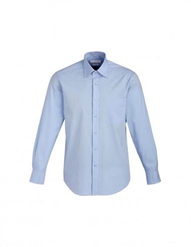 BC-S122ML - Chevron Mens L/S Shirt - Biz Collection