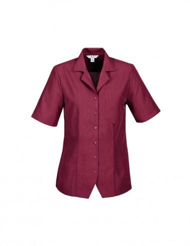 BC-S265LS - Oasis Ladies Plain Overblouse - Biz Collection