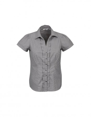 BC-S267LS - Edge Ladies S/S Shirt - Biz Collection