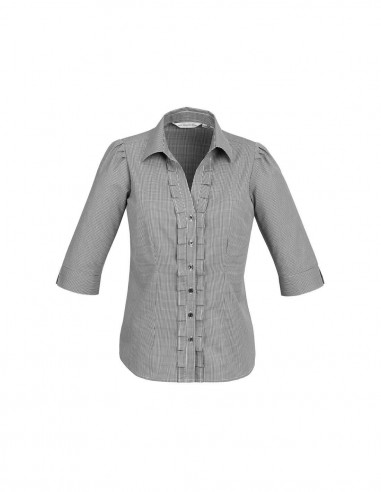 BC-S267LT - Edge Ladies ¾/S Shirt - Biz Collection