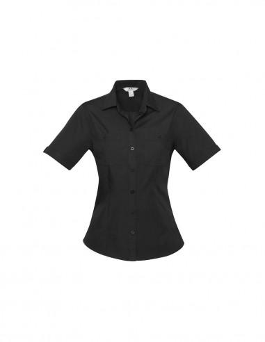 BC-S306LS - Bondi Ladies S/S Shirt - Biz Collection