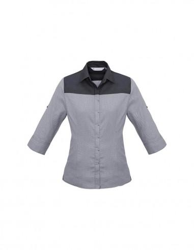 BC-S503LT - Havana Ladies ¾/S Shirt - Biz Collection