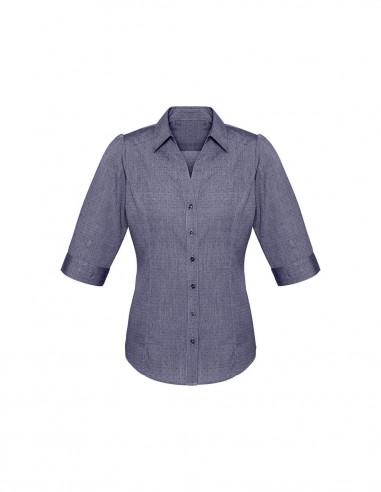 BC-S622LT - Trend Ladies ¾/S Shirt - Biz Collection