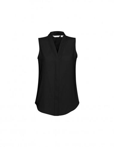 BC-S627LN - Madison Ladies Sleeveless Blouse - Biz Collection
