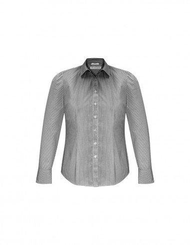 BC-S812LL - Euro Ladies L/S Shirt - Biz Collection